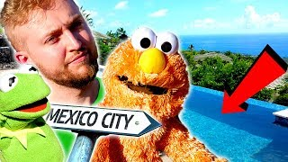 Elmo & Kermit Get A NEW POOL In MEXICO Ft AreUsuperCereal!