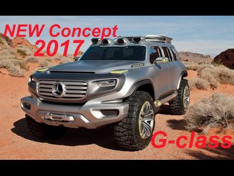 new concept 2017 mercedes benz g class-4×4 system - youtube