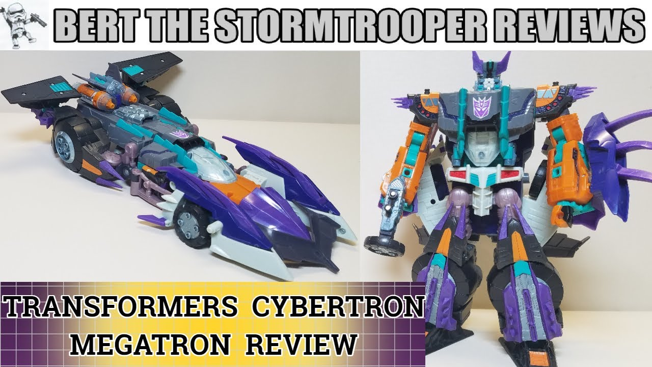 TF: Cybertron MEGATRON Review by Bert the Stormtrooper