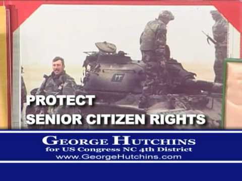 GEORGE HUTCHINS For US Congress TV Commercial