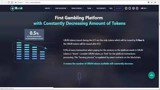 urunit ico reviews - New Era in Gambling Industry