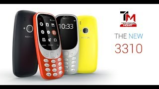 Nokia 3310 (2017) First Look and Hands on