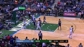 3rd Quarter, One Box Video: Milwaukee Bucks vs. Denver Nuggets