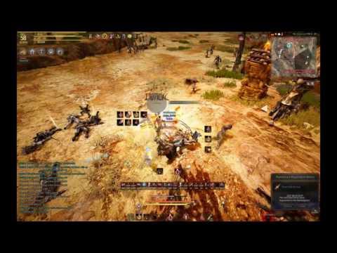 Striker vs DK in PvE   Black Desert Online