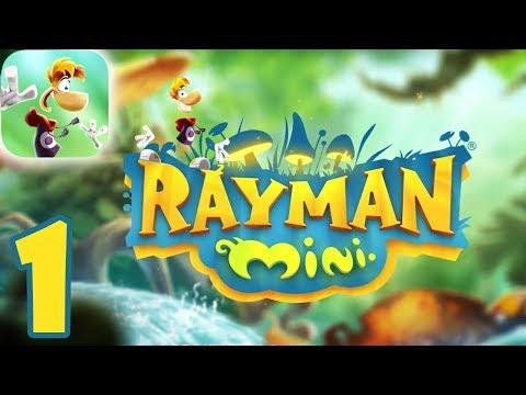 Rayman Mini (By Ubisoft) PERFECT Walkthrough Video - Part 1 (iOS - Apple Arcade)