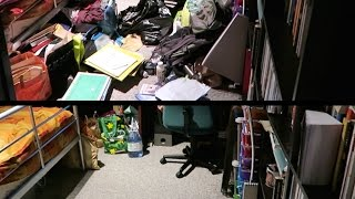 "Before + After - ""The Life-Changing Magic of Tidying Up"" 