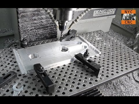 Manufacturing At Home:  Machining Large Aluminum Plate with Tormach PCNC 1100