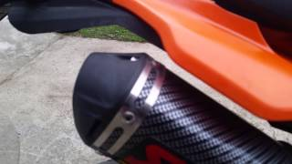 Yamaha xt 125 Akrapovic, sound the best