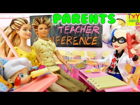 Shoppies' Parent-Teacher Conference 🏫 | Meet the Parents (Pt 1)