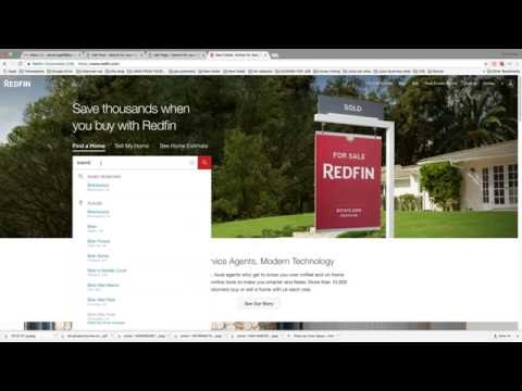 How to use Redfin to search for a home for sale