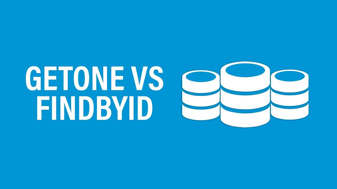 Qual é a diferença entre os métodos getOne e findById em um repositório?