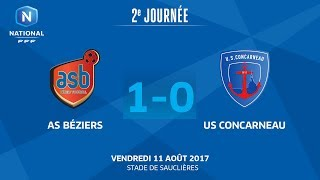 AS Beziers vs Concarneau full match
