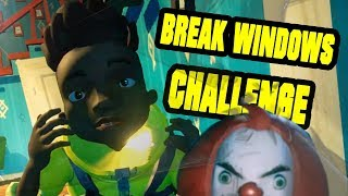 Secret Neighbor BREAK WINDOWS CHALLENGE