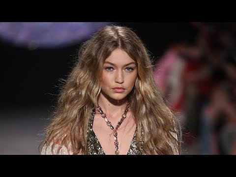 Gigi Hadid LOSES Shoe On NYFW Runway & Handles It Like A Pro