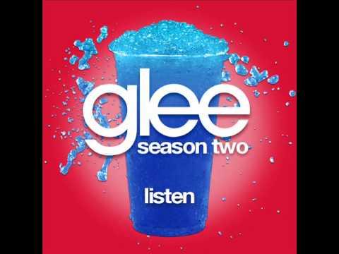 Glee  Listen LYRICS