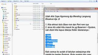 2 Cara Port Rom Qualcomm   YouTube