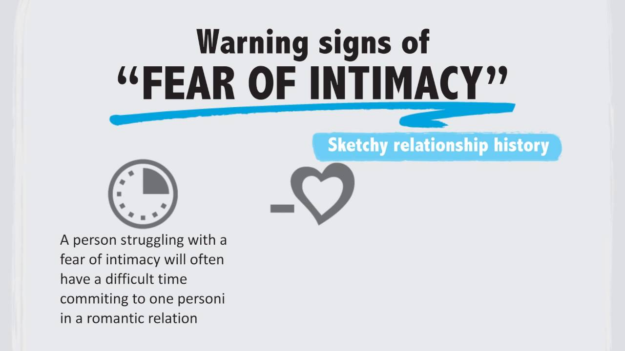 Fear of intimacy signs
