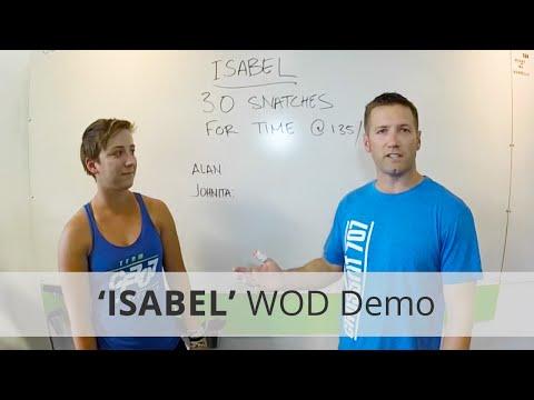 """""""ISABEL"""" CrossFit WOD Demo Alan (3:01) & Johnita (3:51) @ CrossFit 707"""