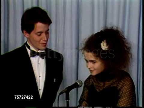 Helena Bonham Carter - 1987  Academy Awards