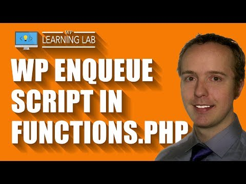 Use WP Enqueue Script To Properly Add Javascript Files To WordPress