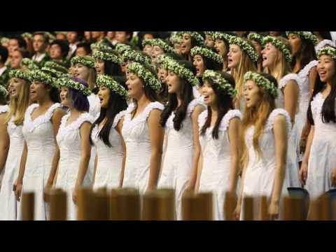 "Punahou Class of 2016 Flashmob / ""Wherever I Go"" (Commencement 2016)"