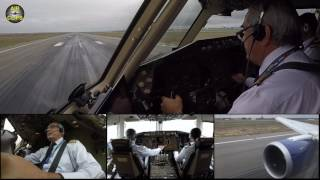 MUST SEE Boeing 767 Takeoff Cockpit MULTICAM VIEWS Baku to Istanbul! [AirClips]