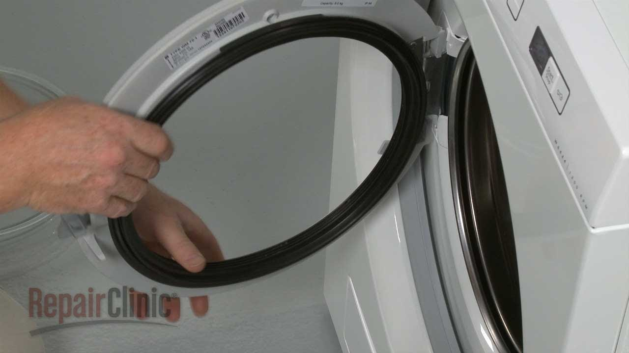 Asko Washer Door Seal Replacement 8081128 Youtube