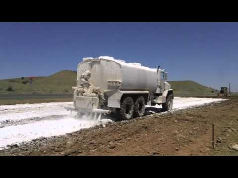 soil stabilization with lime in road construction Greenpave is an innovative soil stabilization approach to road construction that uses alternative binders to engineer sustainable and durable pavement out of native soils.