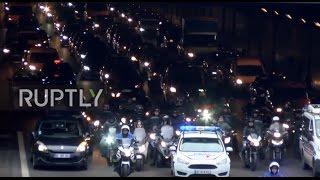 France: Uber drivers block Paris roads demanding increase in wages