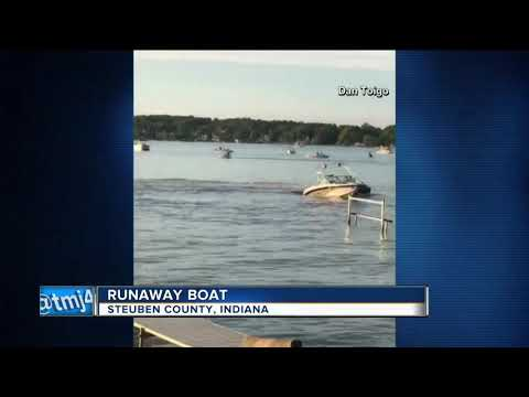 20-year-old woman arrested after boat spins out-of-control on Indiana lake