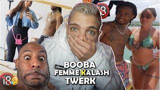 BOOBA AFFICHE LA FEMME DE KALASH   (EXCLU)