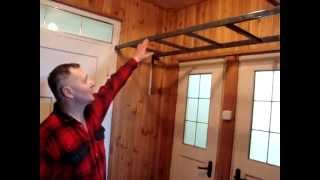 Самодельная лестница на чердак / Eigenbau Treppe / Homemade ladder(обзор самодельной откидной лестницы, сделанной своими руками. Мой канал https://www.youtube.com/channel/UCpt4EHBhBdVVWNrmfLK_gJA/video..., 2015-02-01T19:26:21.000Z)