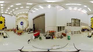 Explore the James Webb Space Telescope at NASA Johnson in 360 [2 - rotate]