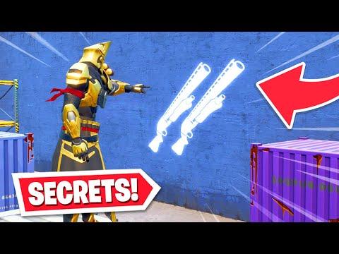 10 SECRETS Hidden By Fortnite In Season X! (CRAZY)