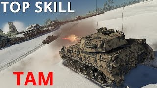 How TAM Plays in War Thunder || Нарезка Топ Боев || Highlights