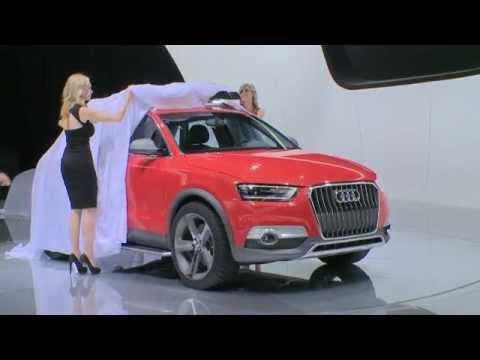 Unveiling of Audi Q3 Vail at NAIAS 2012