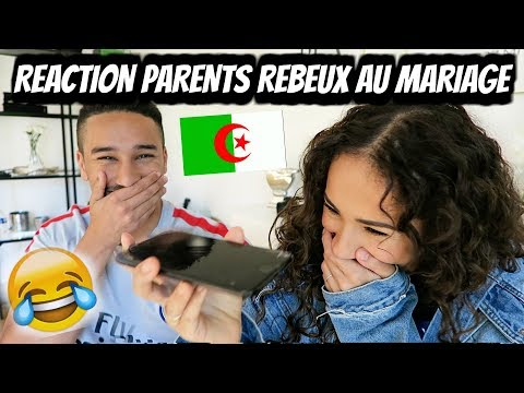 REACTION DE PARENTS REBEUX AU MARIAGE 😂
