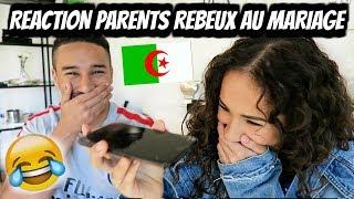 REACTION DE PARENTS REBEUX AU MARIAGE 😂