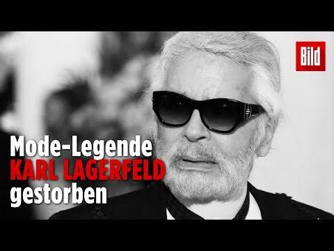 Modezar Karl Lagerfeld ist tot | Französische Medien berichten