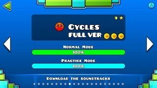 Geometry Dash Cycles FULL VER All Coin Partition