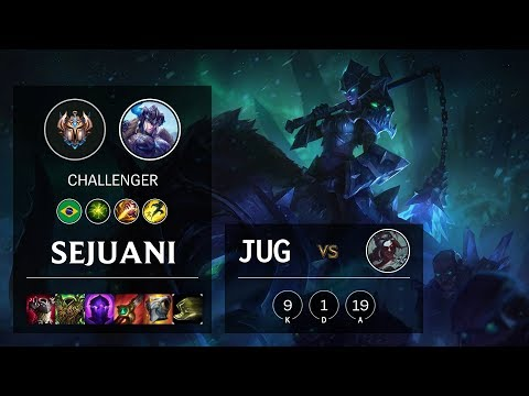 Sejuani Jungle vs Kayn - BR Challenger Patch 10.11