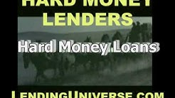 Hard money mortgage lender