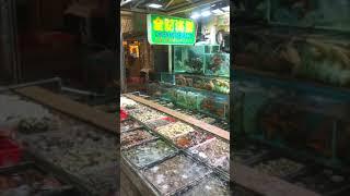 홍콩 해산물의 천국 싸이쿵 첸키레스토랑 씨푸드 식사 예…