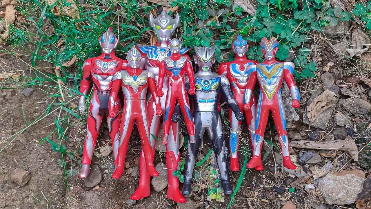Menemukan Kaki Mainan Ultraman Zero | Ultraman | Ultraman Zero | Ultraman Rosso | Mainan Ultraman