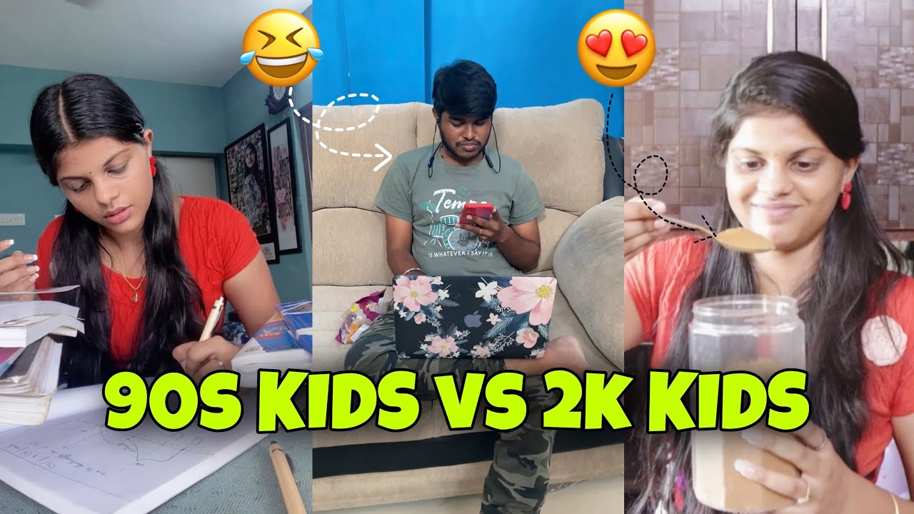 90s KIDS vs 2k KIDS🤣 #shorts #jennishacks