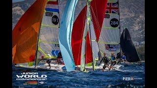 49er Sailing Highlights - 2018 Junior World Championship - Day 1