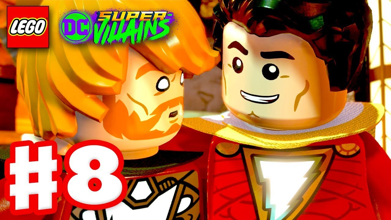 LEGO DC Super Villains - Gameplay Walkthrough Part 8 ...