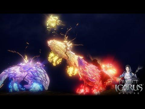 Mount Preview: Torkai, Crimson Torkai & Divine Alkanin [Project Icarus Online]