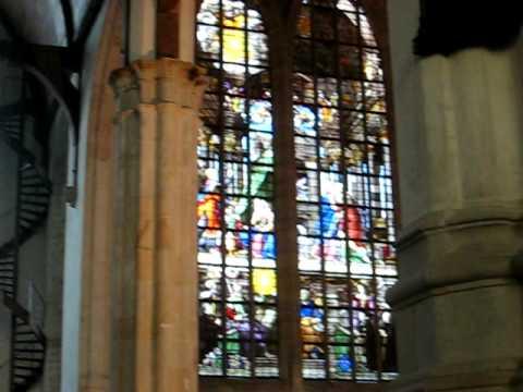 Pipe Organ concert, Oude kerk, Amsterdam