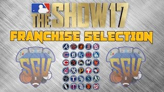 MLB The Show 17 Help Pick The SGU Franchise Mode Team...Vote Now!